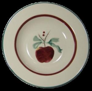 4-Hartstone-Sugar-Sugar-Soup-Bowls-Fruit-Pine-Apple-Ribbon-Red-Green-Holiday-Set