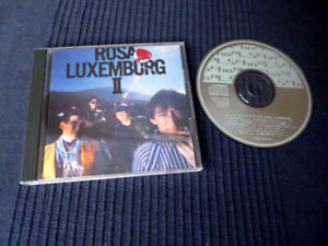 CD Rosa Luxemburg 2 | Japanese Rock 1986 | MDC7-1020 NEAR MINT | 11 Songs