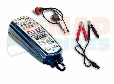 New Optimate 3 12V Motorcycle Battery Charger & Tester 2014 model 33% More power