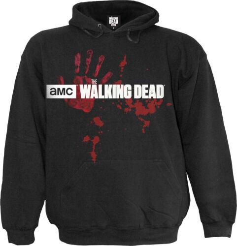 Officiel Zombie Horde The Walking Dead Sweat à Capuche//Sweat//SPIRALE//AMC//Rick//Guerre//Top