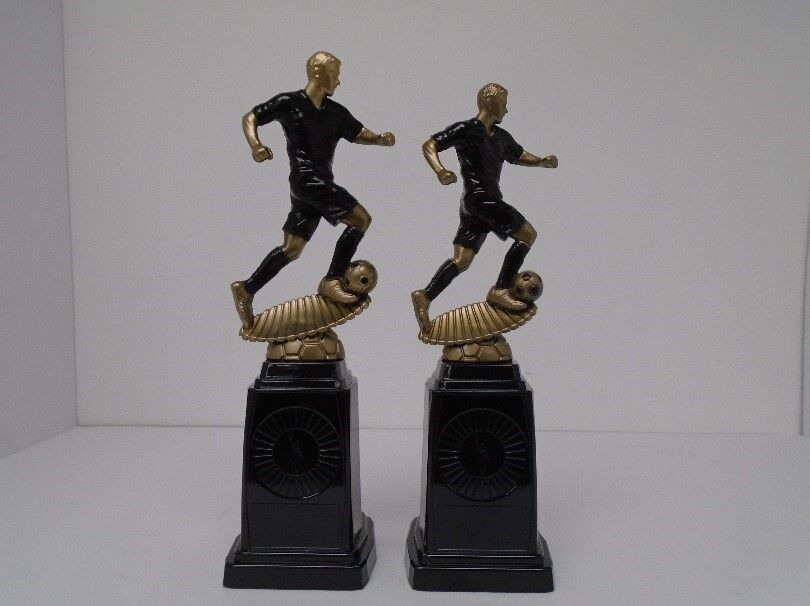 12 x 270mm Squad Football trophies engraved and postage free