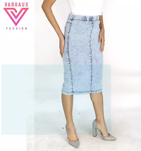 Vargaux-039-s-Hani-Korean-Style-Ladies-Denim-Skirt-Size-36