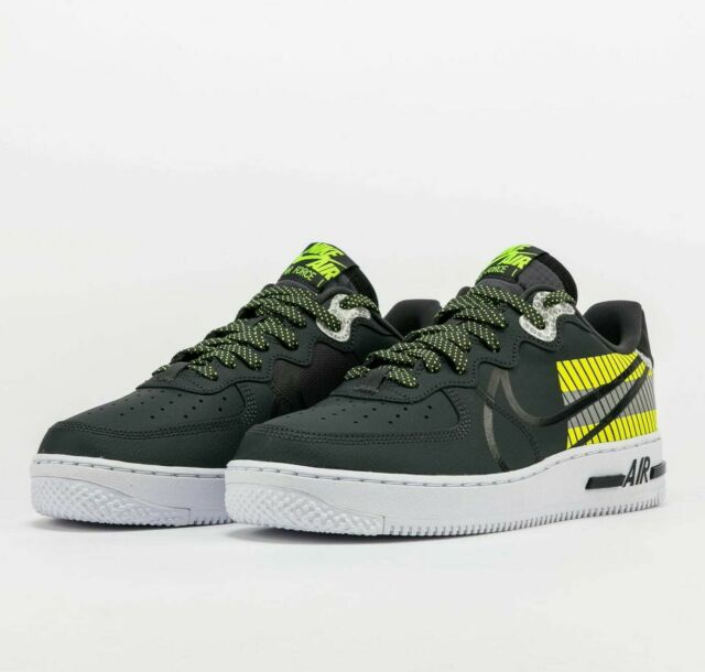 Size 14 - Nike Air Force 1 React LX x 3M Anthracite Volt for sale ...