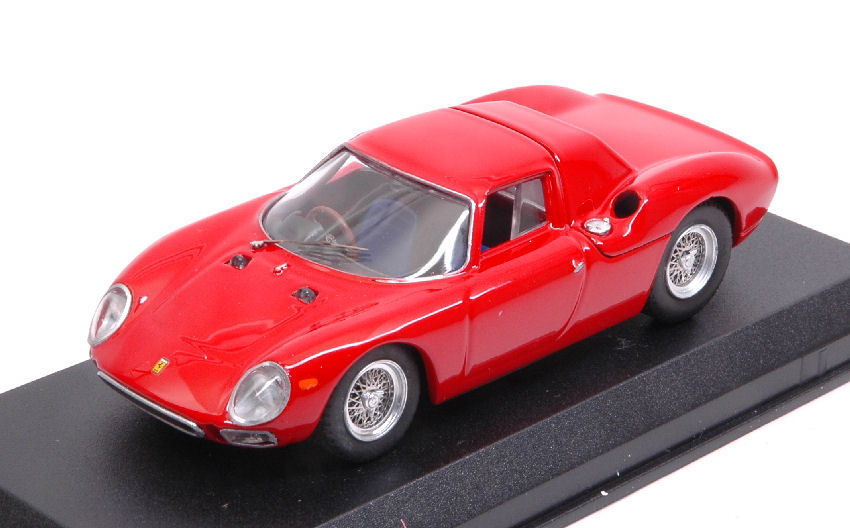 Ferrari 250 Lm 1964 rouge 1 43  Model BEST MODELS  marque de luxe