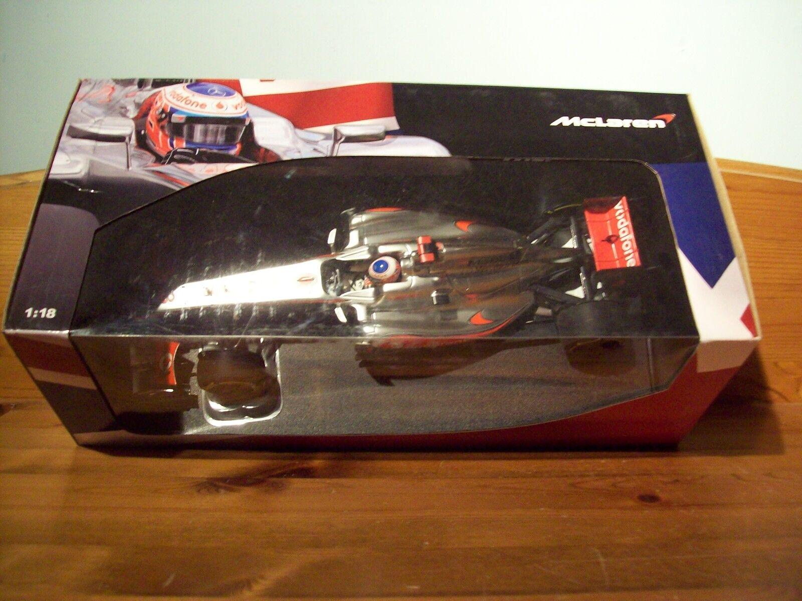 spedizione veloce in tutto il mondo 1 18 McLaren mostrareauto mostrareauto mostrareauto Vodaphone MERCEDES 2012 Jenson Button British GP 2012  designer online
