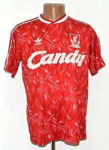 LIVERPOOL ENGLAND 1989/1990/1991 HOME FOOTBALL SHIRT ADIDAS ORIGINALS SIZE M