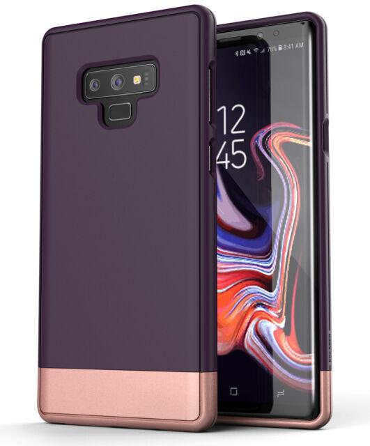 Encased Samsung Galaxy Note 9 Phone Case Purple, Slim Protective Grip Cover