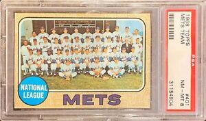 1968-Mets-Team-PSA-8-NM-MT-PERFECTLY-CENTERED-Seaver-Koosman-Great-Card