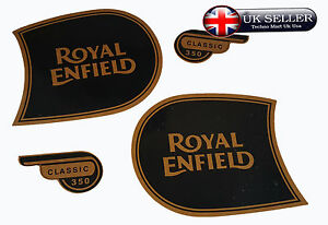 Details about ROYAL ENFIELD CLASSIC350 FUEL TANK & TOOL BOX STICKER LOGO  BADGE EMBLEM MONOGRAM