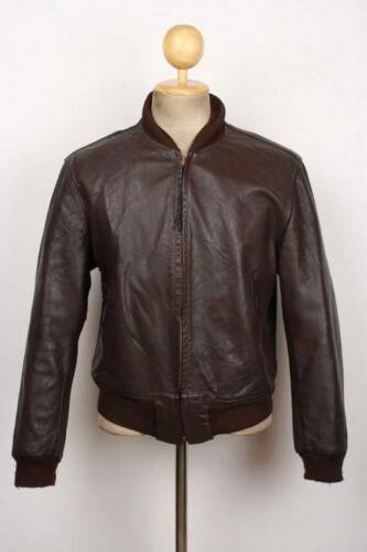Vintage Rare FIELD & STREAM Leather Jacket 1940's