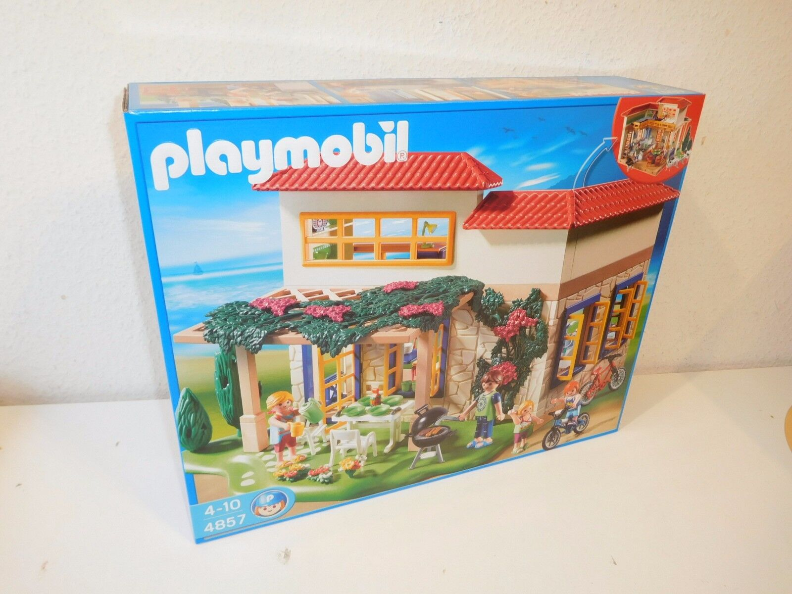 PLAYMOBIL 4857 nuovo NUOVO MISB OVP Holliday House appartaessito vacanze