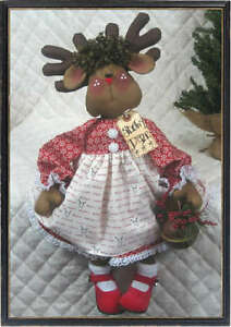 "~Primitive Raggedy 21""~""ROXY REINDEER""~PATT<wbr/>ERN #231~from Ginger Creek Crossing"