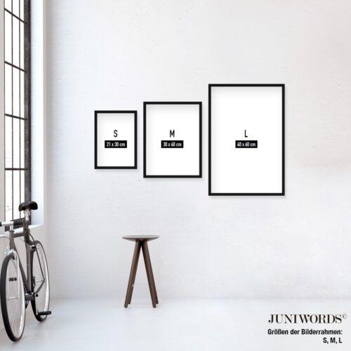 "JUNIWORDS Poster mit Rahmen /""BEEF CUTS/"" Metzger Küche Koch Tiere DIN A4 A3 A2 A1"