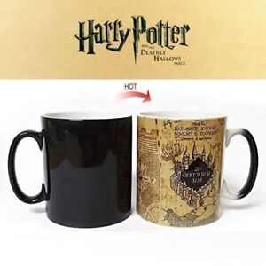 Harry About Magic Marauder Color Coffee Changing Heat Details Cup Potter Mug Sensitive Ceramic mNOv80wn