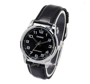 Casio MTPV001L-1B Men's Strap Fashion Watch