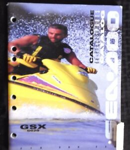 genuine 1996 sea doo gsx 5620 jet ski watercraft waverunner parts rh ebay ie 1996 seadoo gtx manual pdf 1996 sea doo gtx shop manual