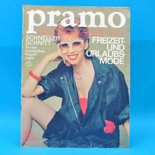 Pramo 5/1983 Praktische Mode Schnittmuster J Regencape Mollige Kombimode Kinder