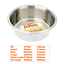 Stainless-Steel-Dish-For-Dogs-Cats-Feeding-Bowls-Small-Med-Large-XL-or-Non-Slip thumbnail 2