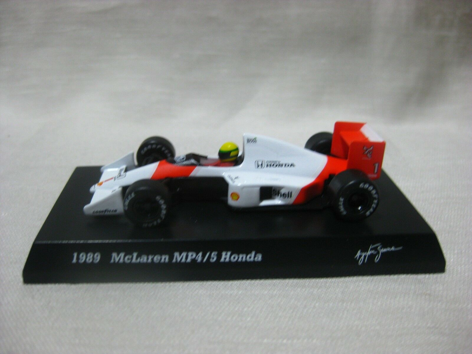 1 64 Kyosho McLaren MP4  5 1989 Honda tärningskast modelllllerler Bil