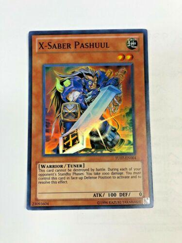 x3 Yugioh! X-Saber Pashuul TU07-EN004 Super Rare *Playset* Near Mint