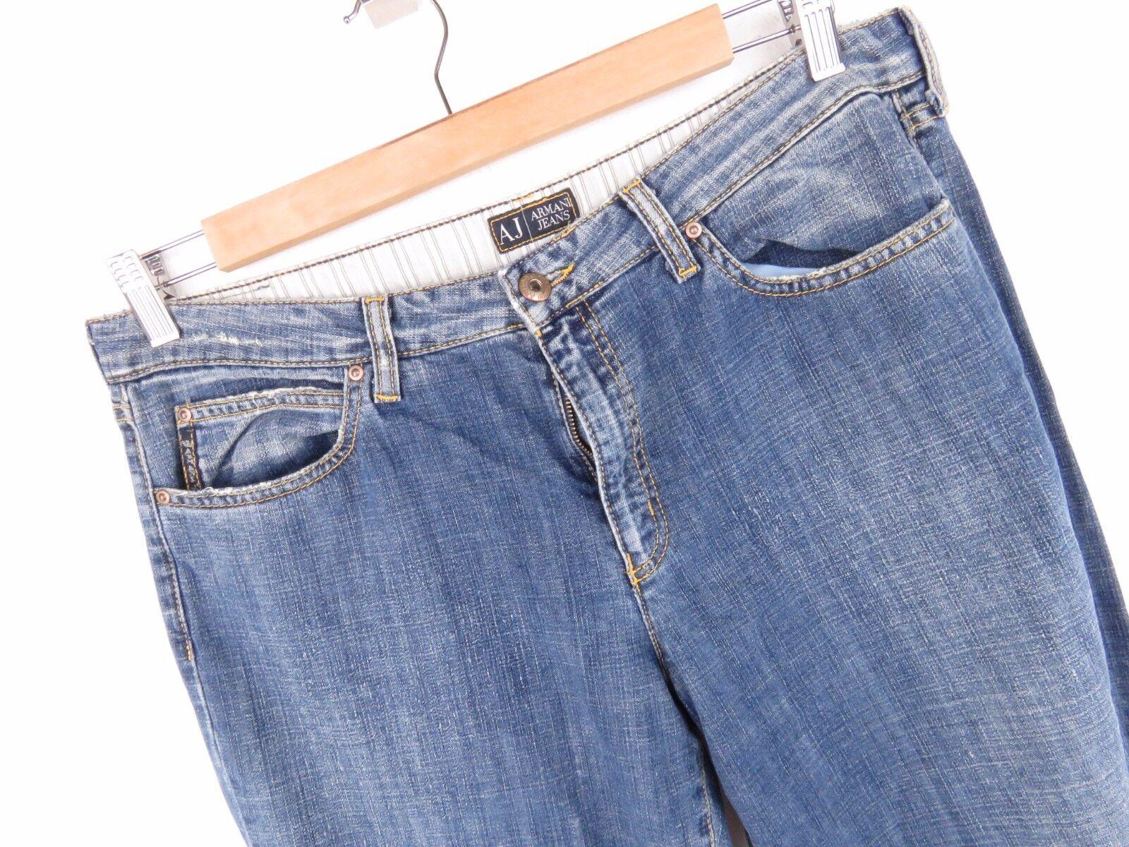 Jy2712 Armani Jeans Hose Original Premium Vintage Hergestellt in Italien Größe