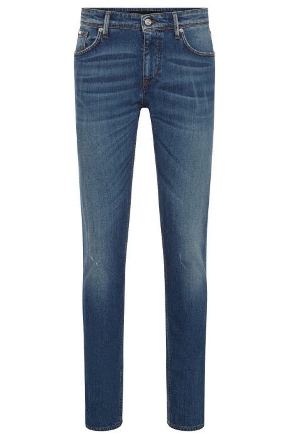 f796a1000b4e HUGO BOSS Jeans slim fit elasticizzato effetto lavato Charleston3-WS -  50394757