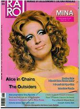 RIVISTA MUSICALE RARO N°164 MINA ALICE IN CHAINS THE OUTSIDERS  ART 878