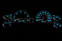 Jeep Wrangler Tj 97-06 Instrument Cluster Speedometer Led Kit Ice Blue / Aqua