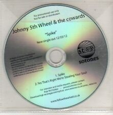 (CU352) Johnny 5th Wheel & The Cowards, Spike - 2012 DJ CD