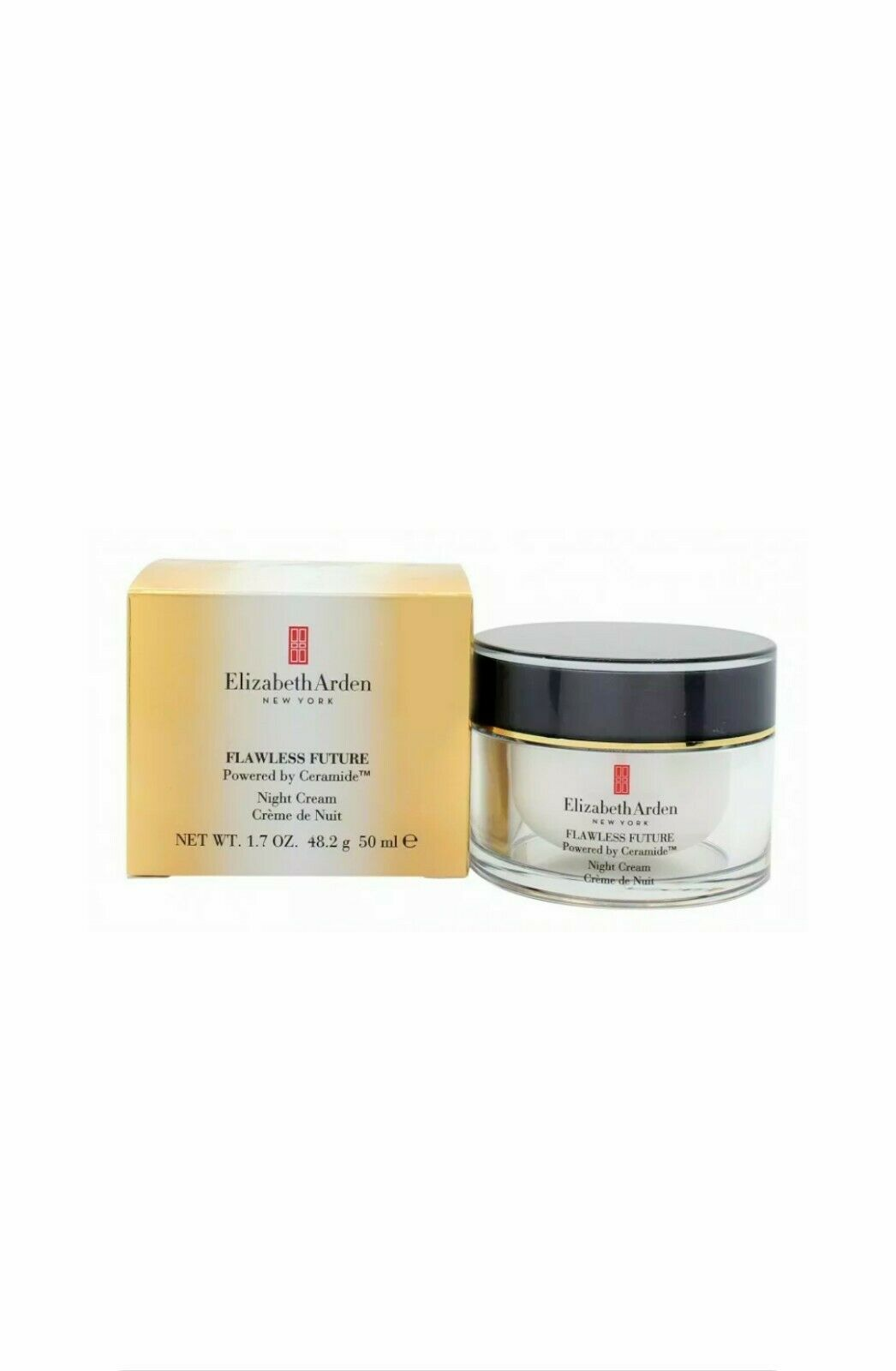 Elizabeth Arden Flawless Future Powered By Ceramide Night Cream 50ml For Sale Online Ebay