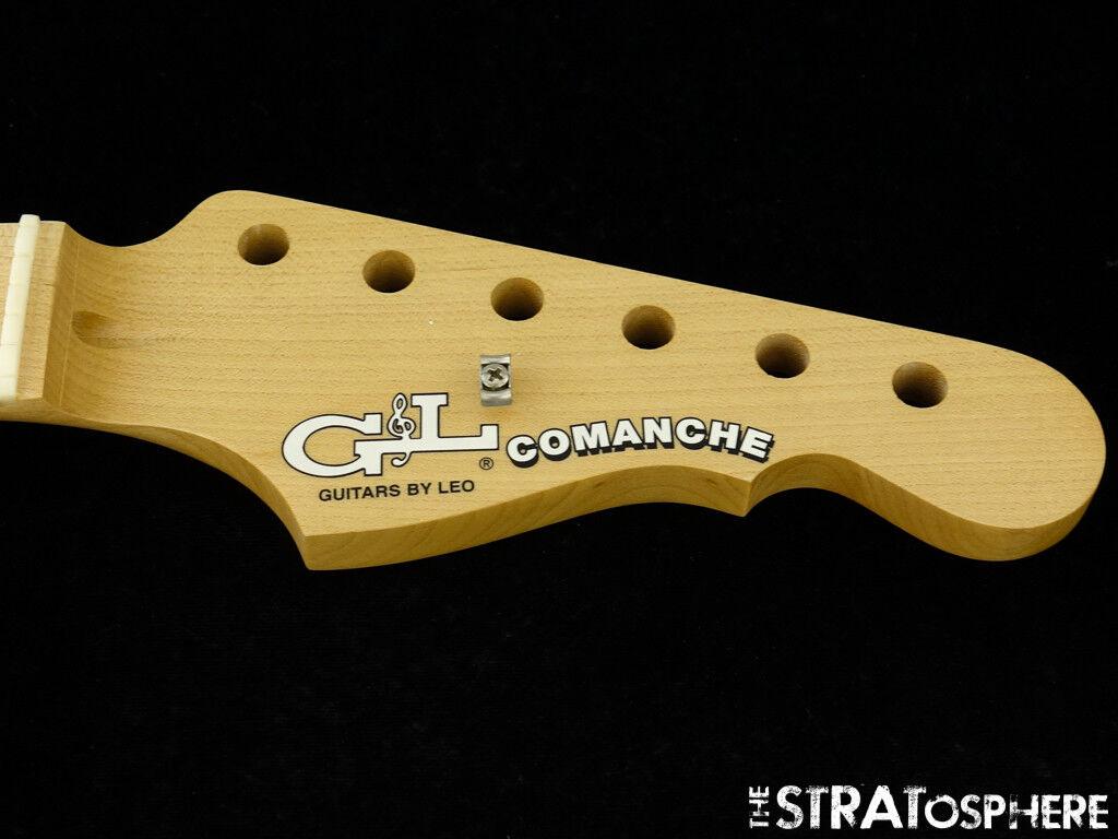 American G&L Comanche NECK USA Guitar Maple Modern Classic 9.5  Radius USA