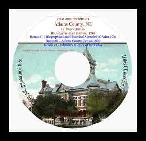 History-of-Adams-County-Nebraska-In-Two-Volumes