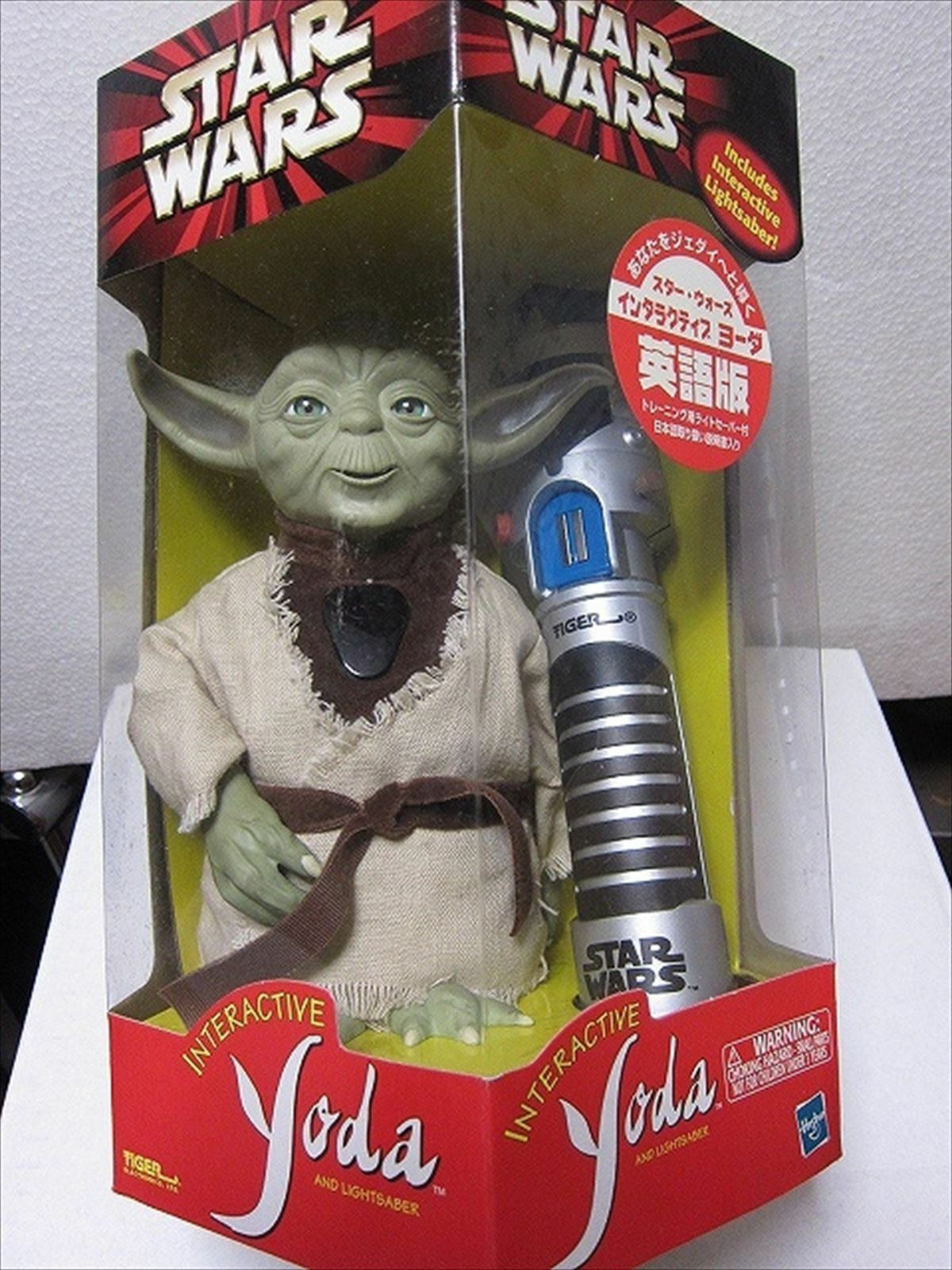 TOMY Star Wars Interactive Yoda English edition from JAPAN F/S