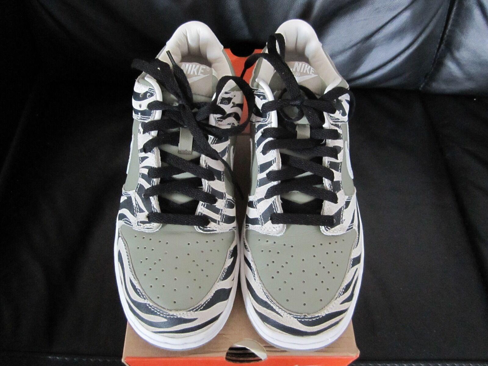 reputable site 8a487 e7d06 Nike D.S 2003 2003 2003 Dunk Low Safari suprême Premium Taille Brit 8 9  U.S.A. NEUF. 167948