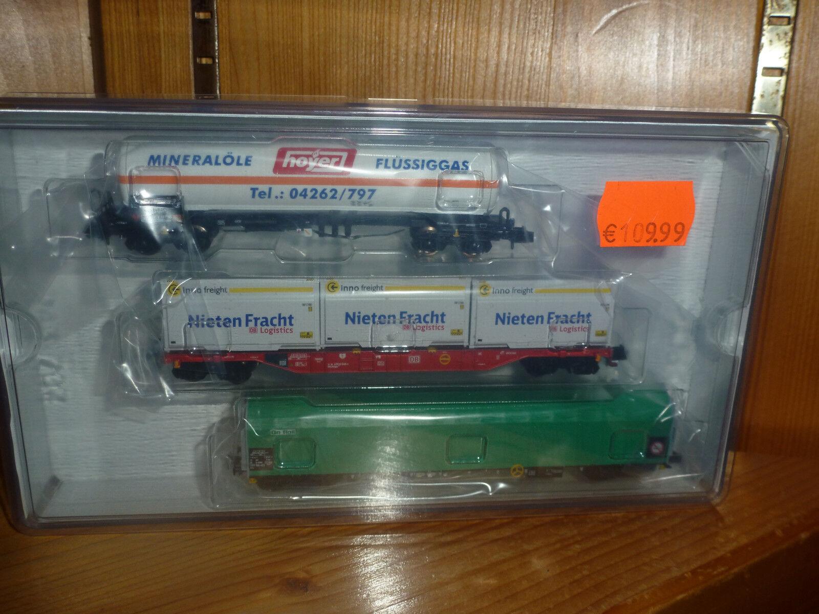 Mini Trix vagones set 3 pzas. nº 15303
