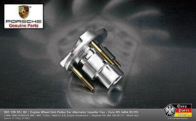 PORSCHE 964 993 Euro RS Engine Wheel Hub Pulley For Alternator Impeller Fan NEW