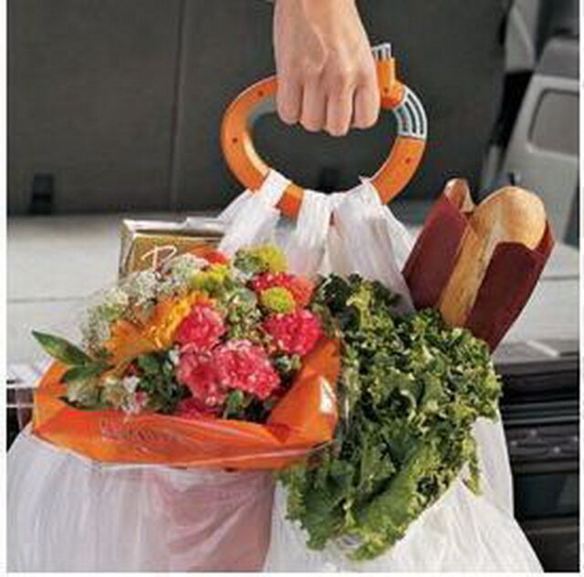 Hold bag easy Trip Grips Shopping Grocery Bag Holder Handle  FREE SHIPMENT MO