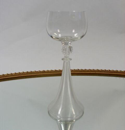 Josephinenhütte Römer Glas gerippter Hohlfuss Beerennuppen um 1920 Jugendstil