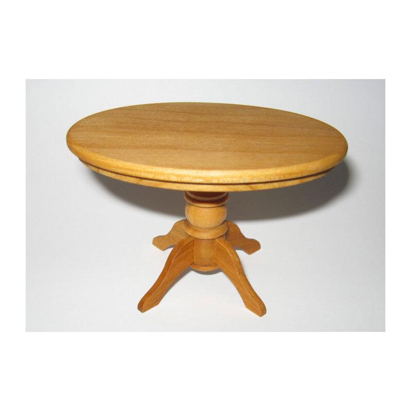 Amore Amore Amore a mano 46015 tavolino ovale, ciliegio 1 12 per casa delle bambole (0705) NUOVO    9fc0cf
