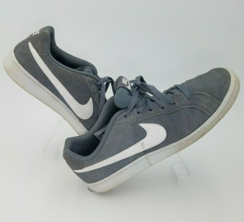 Vintage NIKE Shoes Gray Suede Running Shoes Sneake