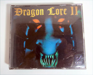 Dragon-Lore-II-2-PC-CD-ROM-Game-Rare-No-Manual-3CDROM-double-jewel-Case