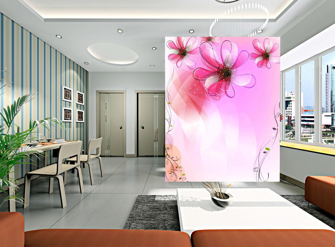 3D Watercolor Flower 7 Wall Paper Murals Wall Print Wall Wallpaper Mural AU Kyra