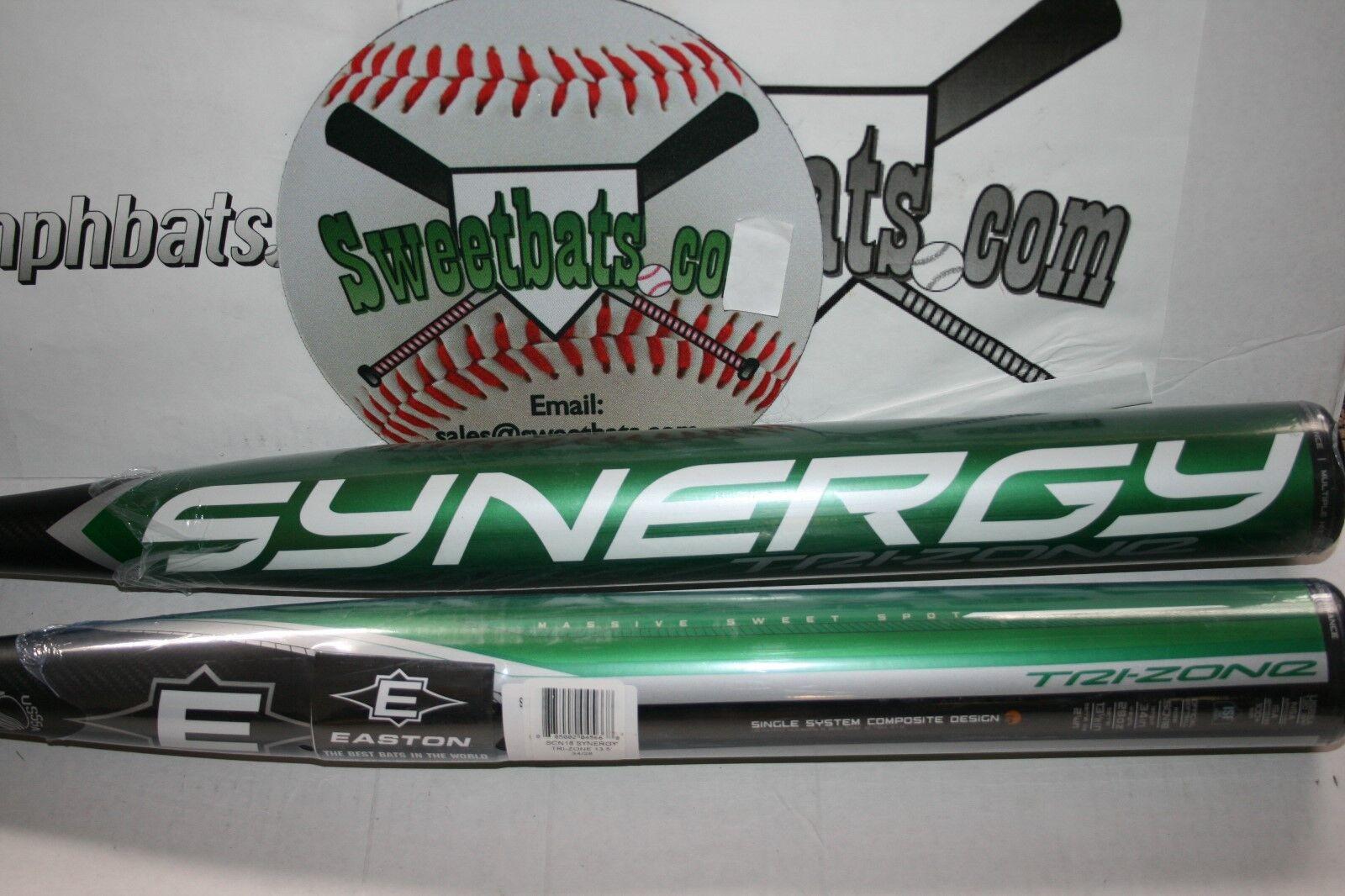 New New New Easton Synergy SCN18 TRI ZONE USSSA Softball Bat 28 100mph + 13.5  barrel d4dbd5