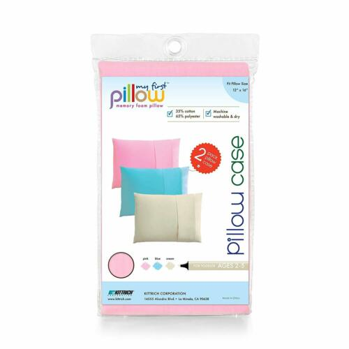 """My First Pillow 2-Pack Pillowcases for Kids Fits Pillows Sized 16/"""" x 20/"""""""
