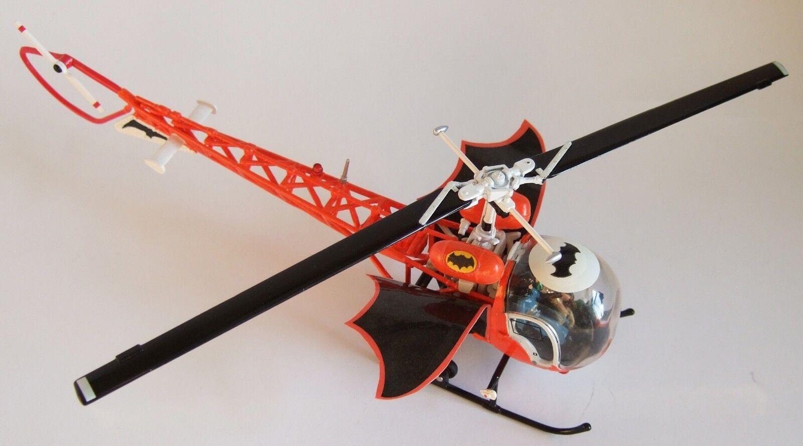Personalizado Batman's baticóptero-en escala para el Batimóvil Corgi