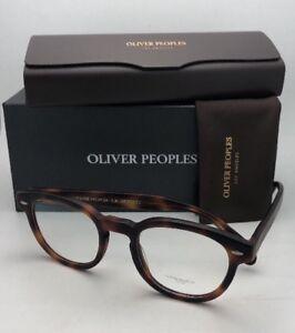 742b093966c OLIVER PEOPLES Eyeglasses SHELDRAKE OV 5036 1552 47-22 Matte Dark ...