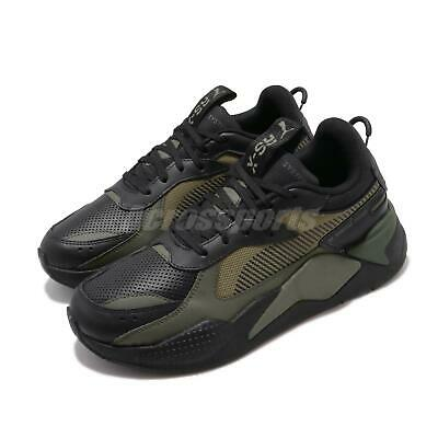 Puma RS-X Winterized Running System Black Burnt Olive Men Casual Shoes  370522-03 | eBay