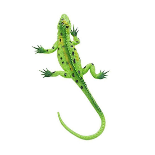 1pcs Lifelike Shape Soft Rubber Lizard Figure Zoo Reptile Toy Collection Decor