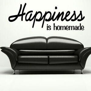 Happiness  Large Vinyl Wall Quote Large Wall Decal Big Vinyl Quotes QU67 - Tamworth, Staffordshire, United Kingdom - Returns accepted Most purchases from business sellers are protected by the Consumer Contract Regulations 2013 which give you the right to cancel the purchase within 14 days after the day you receive the item. Find - Tamworth, Staffordshire, United Kingdom