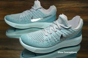 48903c891526 Nike Lunarepic Low Flyknit 2 Glacier Blue 863780-405 Women s Shoes ...